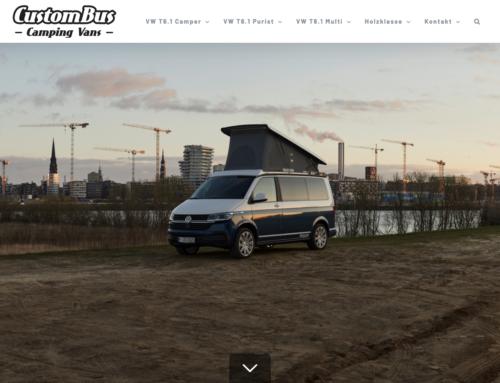 Neue WordPress-Webseite für Custom-Bus
