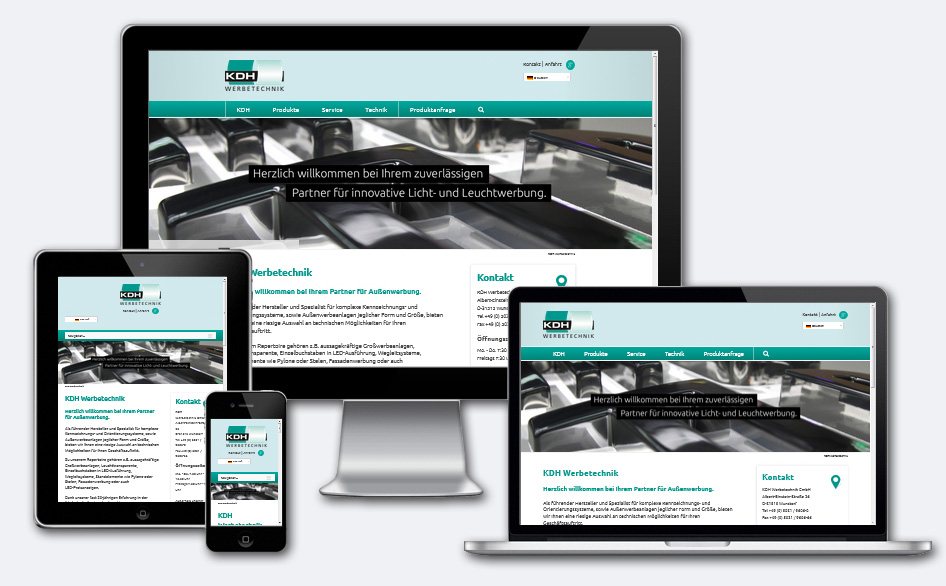 Webseitengestaltung mit funktion5