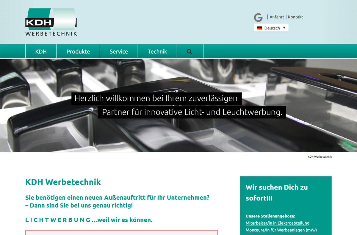 KDH Werbetechnik GmbH 1