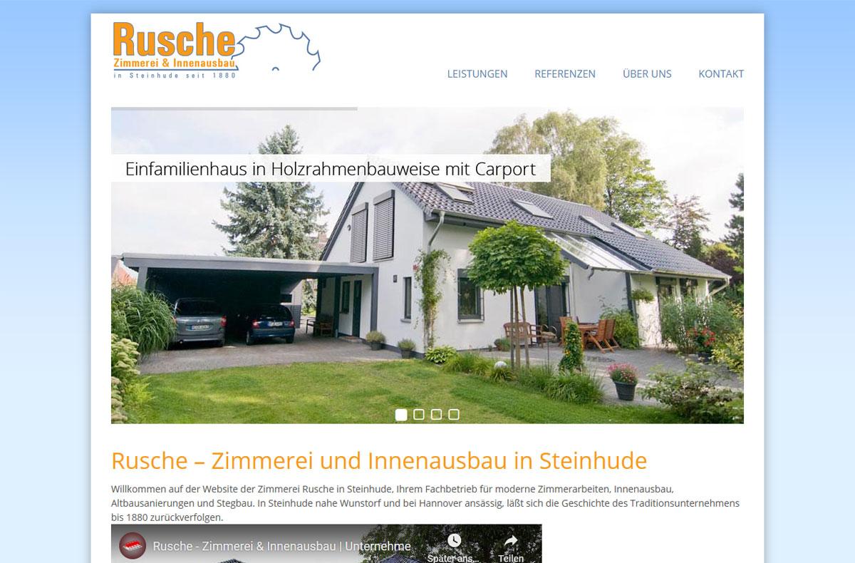 Rusche – Zimmerei & Innenausbau 1