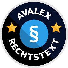 avalex – die einfache Lösung für Rechtstexte! 1