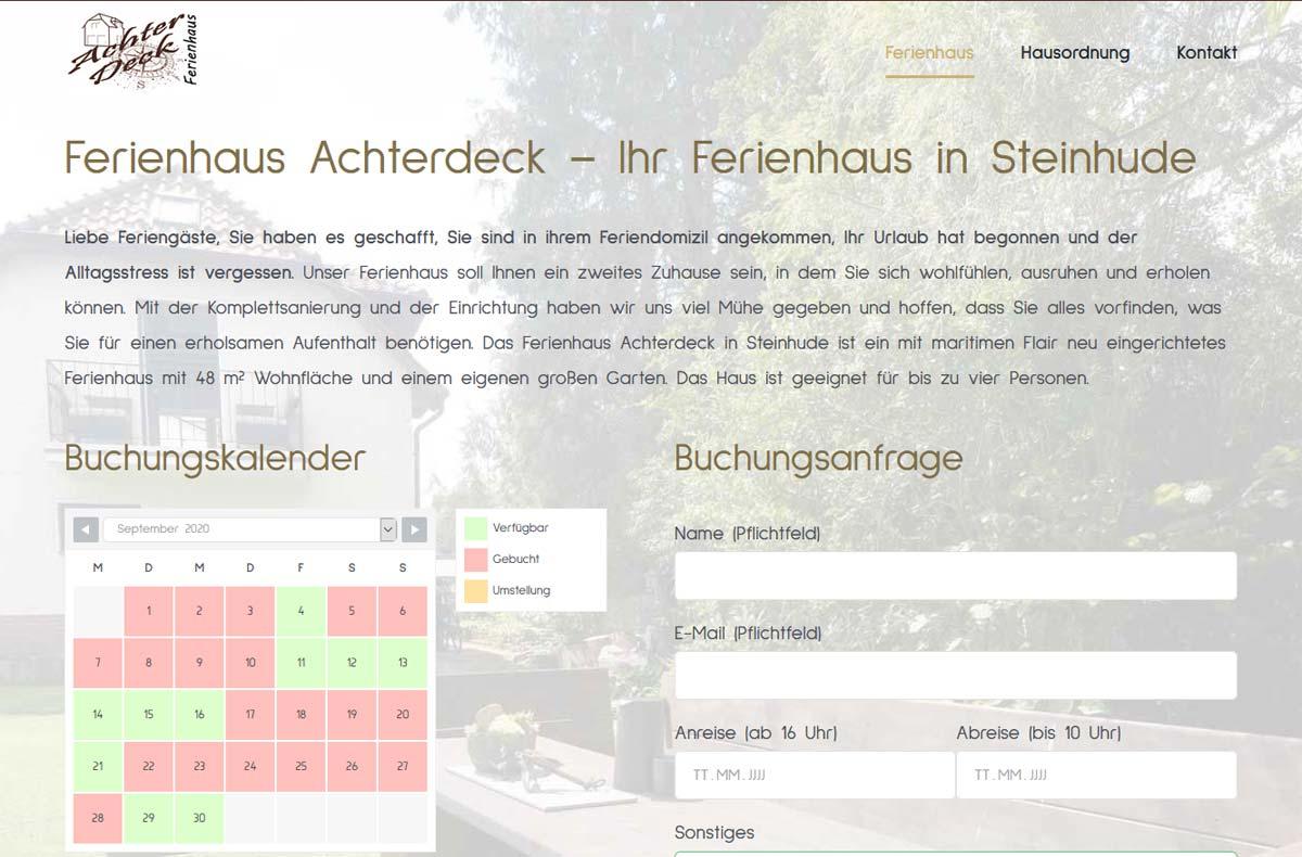 Ferienhaus Achterdeck Steinhude 2
