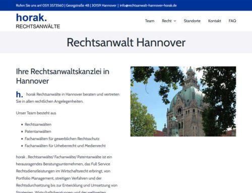 Rechtsanwalt Hannover Horak