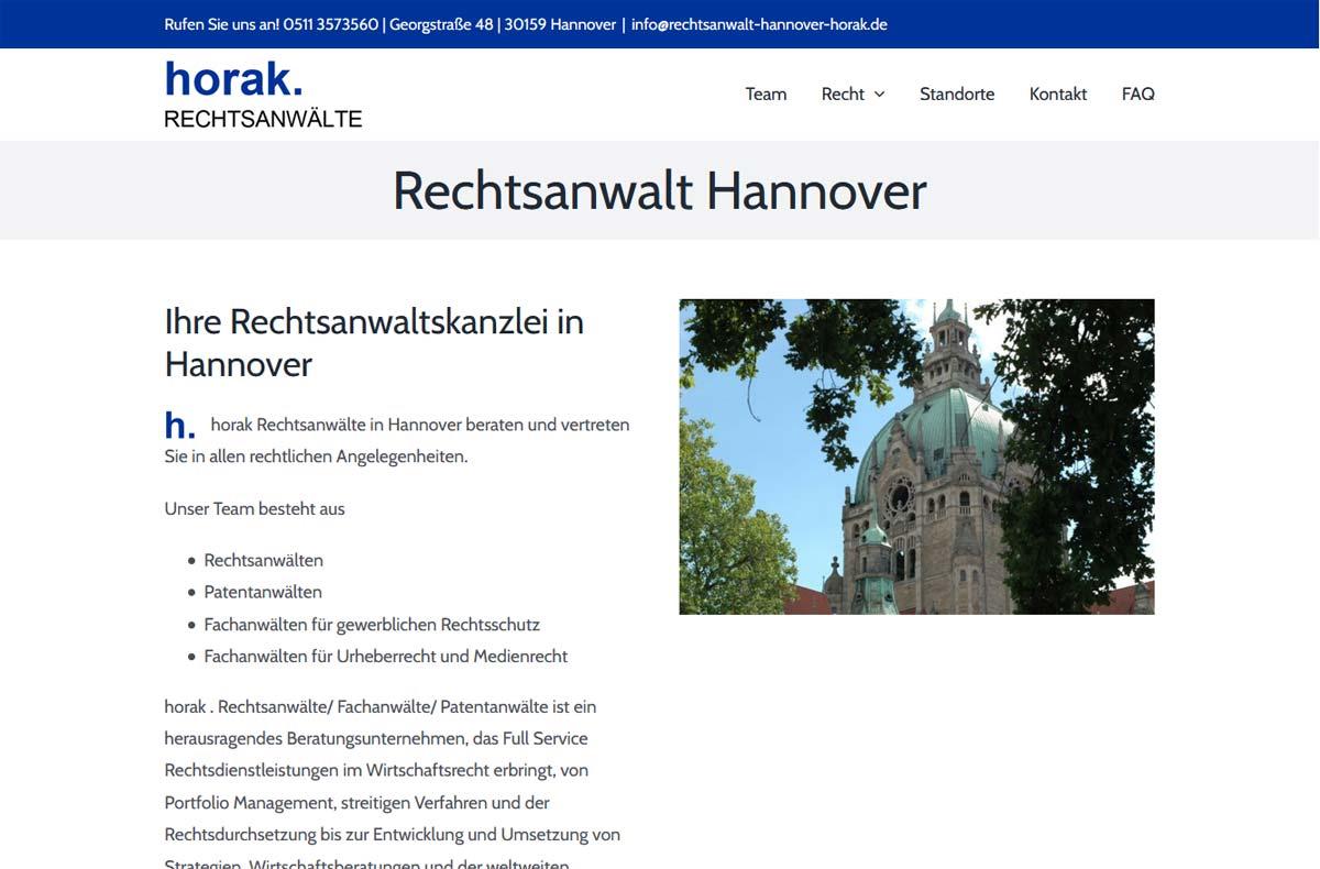 Rechtsanwalt Hannover Horak 4