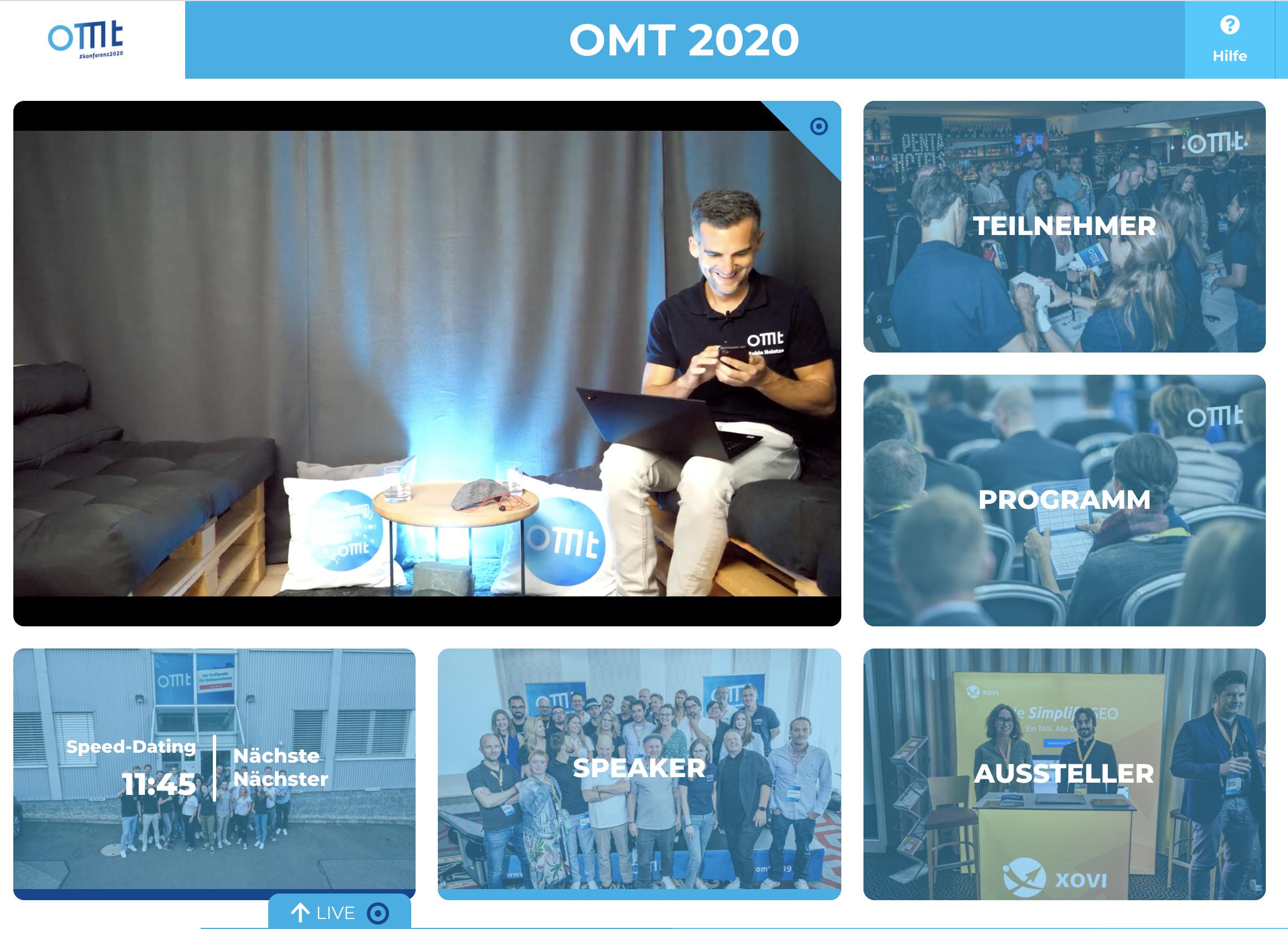 OMT 2020 - Konferenz