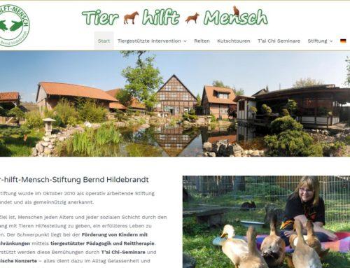 Tier-hilft-Mensch Stiftung Bernd Hildebrandt